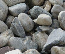 "3-6"" river rock"